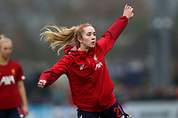 Missy Bo Kearns of Liverpool during Arsenal Women vs Liverpool Women, Barclays FA Women's Super League Football at Meadow Park on 24th November 2019