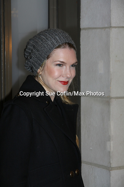 Lily Rabe - Opening Night of Broadway's Good People on March 3, 2011 at the Samuel J. Friedman Theatre, New York City, New York.  (Photo by Sue Coflin/Max Photos)