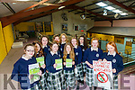 Presentatin Secondary School Tralee TY  students Out With Japanese Knotweed warning to landowners and farmers Front l-r Roisin O'Connell, Leona O'shea Back l-r Niamh Furlong, Kate O Connor, Kelly Tobin, Kelly Stewart, Fiona Murray, Back l-r Sophie Knightley <br /> Maeve Pierce, Emma Slattery, Yvette Daly