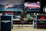 Riders compete at the Longines Speed Challenge during the Longines Hong Kong Masters 2015 at the AsiaWorld Expo on 13 February 2015 in Hong Kong, China. Photo by Xaume OIleros / Power Sport Images