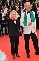 """CANNES, FRANCE. May 24, 2019: Brigitte Fossey  at the gala premiere for """"Sybil"""" at the Festival de Cannes.<br /> Picture: Paul Smith / Featureflash"""