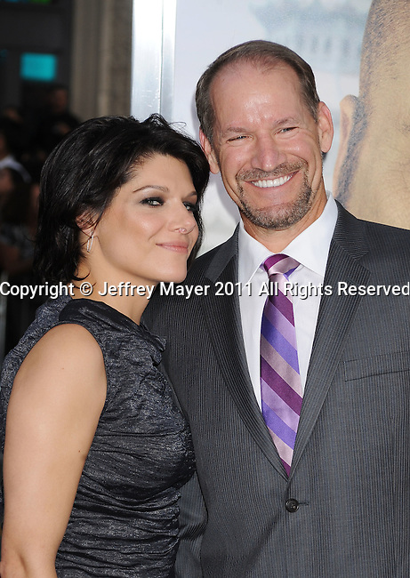 """`HOLLYWOOD, CA - MAY 19: Bill Cowher arrives at the Los Angeles premiere of """"The Hangover Part II"""" at Grauman's Chinese Theatre on May 19, 2011 in Hollywood, California."""