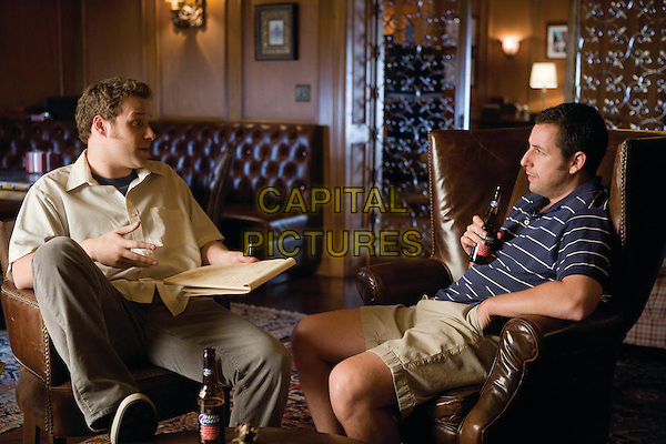 SETH ROGEN & ADAM SANDLER.in Funny People .*Filmstill - Editorial Use Only*.CAP/FB.Supplied by Capital Pictures.
