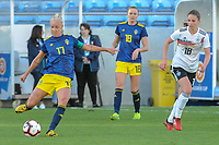 20200304 Faro , Portugal : Swedish Stina Blackstenius (11) pictured during the female football game between the national teams of Germany and Sweden on the first matchday of the Algarve Cup 2020 , a prestigious friendly womensoccer tournament in Portugal , on wednesday 4 th March 2020 in Faro , Portugal . PHOTO SPORTPIX.BE | STIJN AUDOOREN