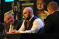 Nathan Gorman during a Press Conference at the BT Studio on 9th May 2019