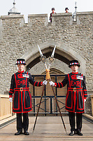 Tower of London drawbridge