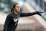 07 September 2014: North Carolina's Bryane Heaberlin. The University of North Carolina Tar Heels played the University of Arkansas Razorbacks at Koskinen Stadium in Durham, North Carolina in a 2014 NCAA Division I Women's Soccer match. UNC won the game 2-1.