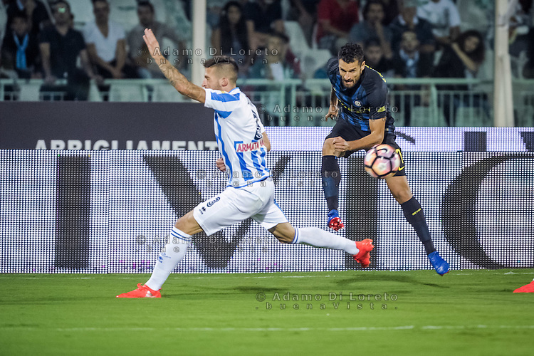 Antonio Candreva (Inter) during the Italian Serie A football match Pescara vs SSC Inter on September 11, 2016, in Pescara, Italy. Photo by Adamo DI LORETO