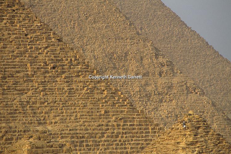 Egypt's Old Kingdom; Pyramid at Giza; Giza Plateau, Egypt
