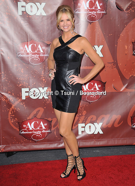 Nancy O Dell  - American Country Awards at the MGM Hotel In Las Vegas.