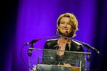 Astrid Wetthnall lors de la soirée de remise des bayards lors de la  29eme édition du Festival du Film Francophone, Namur le 03 octobre 2014 Belgique