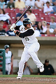 August 17 2008:  Jake Smith of the Kane County Cougars, Class-A affiliate of the Oakland Athletics, during a game at Philip B. Elfstrom Stadium in Geneva, IL.  Photo by:  Mike Janes/Four Seam Images