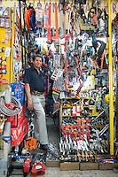 David Garcia Mancilla. Hardware store owners in Mercado Hidalgo,  Mexico DF, Mexico