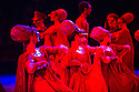 London, UK. 10.06.2014. Tamara Rojo and Carlos Acosta, from English National Ballet, in dress rehearsal for ROMEO AND JULIET, in the round, in the Royal Albert Hall. Picture shows: The company as revellers at the ball. Photograph © jane Hobson.