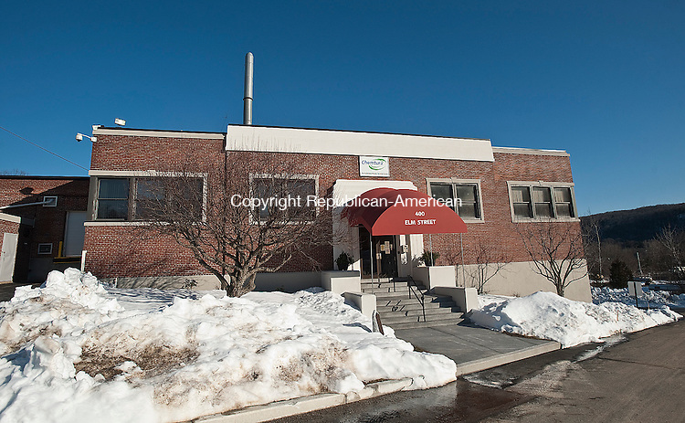 NAUGATUCK, CT 14 FEBRUARY 2013-021413JS06--One of the Chemtura Corporation buildings located at 400 Elm Street in Naugatuck. .Jim Shannon Republican-American