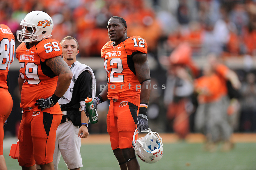 Johnny Thomas(12) / Oklahoma State Cowboys,OKLAHOMA STATE, JOHNNY THOMAS