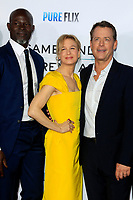 "LOS ANGELES - OCT 12:  Djimon Hounsou, Renee Zellweger, Greg Kinnear at the ""Same Kind of Different as Me"" Los Angeles Premiere at the Village Theater on October 12, 2017 in Westwood, CA"