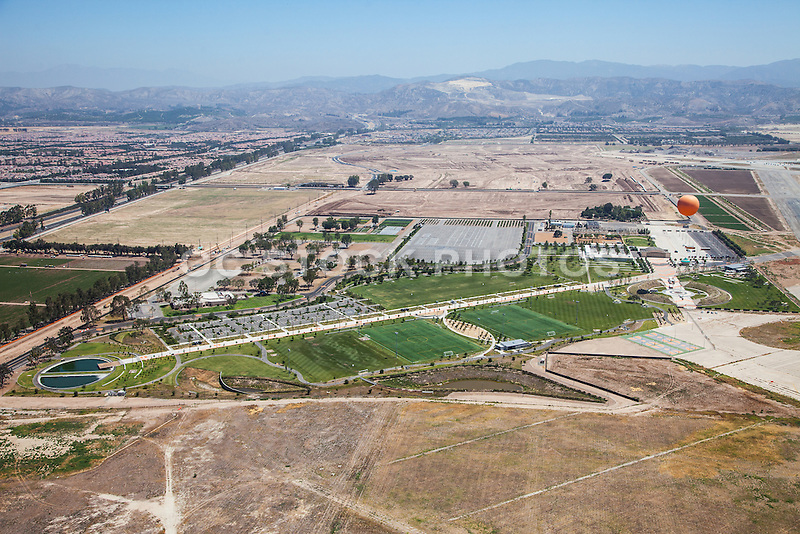Orange County Great Park Aerial Stock Photo