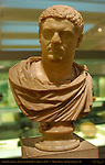 Emperor Caracalla, Tivoli-type Marble Bust, Roman c. 215-217 AD, Quattro Fontane Rome, British Museum, London, England, UK