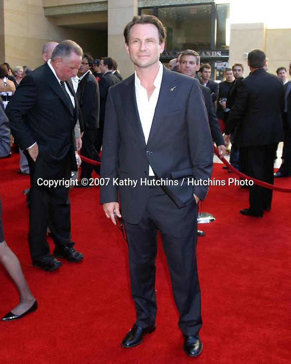 Christian Slater.ESPY Awards 2007.Kodak Theater.Los Angeles, CA.July 11, 2007.©2007 Kathy Hutchins / Hutchins Photo....