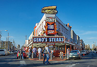 Famous Geno's Steaks, South Philly, Philadelphia, PA, USA