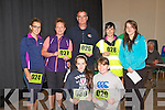 Pictured at the Athea Tidy Towns 5k and 10k fun run and walk which took place on Sunday were Front Row L-R  Tara Histon and Becky Dalton, Athea. Back row L-R Nicole O'Sullivan, Athea, Jackie Barrett, Dublin, Ciaran and Aggie Barrett, Clodagh Histon, Athea.