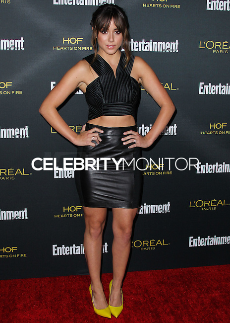 WEST HOLLYWOOD, CA, USA - AUGUST 23: Chloe Bennet arrives at the 2014 Entertainment Weekly Pre-Emmy Party held at the Fig & Olive on August 23, 2014 in West Hollywood, California, United States. (Photo by Xavier Collin/Celebrity Monitor)