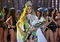 SAO PAULO, SP, 18.11.2015 - MISS BRASIL 2015: Candidata Marthina Brandt do Rio Grande do Sul (RS) é eleita a Miss Brasil 2015 após vencer o concurso realizado na noite desta quarta-feira (18) no Citibank Hall em São Paulo. Ela representará o Brasil no Miss Universo, que será realizado em La Vegas em dezembro deste ano.(Foto: Levi Bianco/Brazil Photo Press)