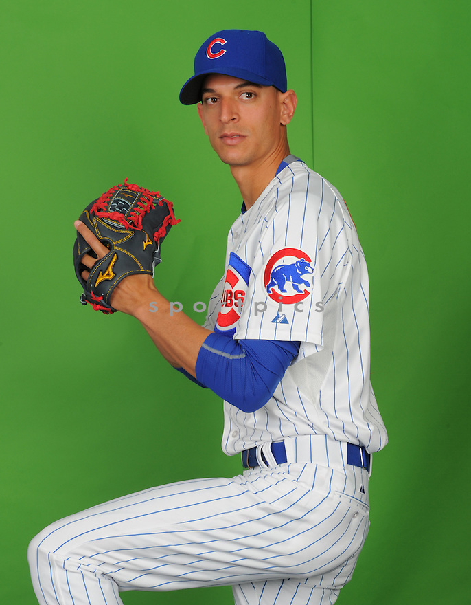 Chicago Cubs Armando Rivero (81) during photo day on March 2, 2015 in Mesa, AZ.