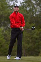 Martin Kaymer (GER) watches his tee shot on 15 during Round 2 of the Valero Texas Open, AT&T Oaks Course, TPC San Antonio, San Antonio, Texas, USA. 4/20/2018.<br /> Picture: Golffile | Ken Murray<br /> <br /> <br /> All photo usage must carry mandatory copyright credit (© Golffile | Ken Murray)