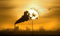Nederland - Rotterdam -  2018.   Kolencentrale op de Maasvlakte. Ook de eigenaren van de nieuwe kolencentrales op de Tweede Maasvlakte, energiebedrijven Engie en Uniper, hebben aangegeven van de kolen af te willen. Foto Berlinda van Dam / Hollandse Hoogte