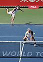Kei Nishikori (JPN), Tatsuma Ito (JPN), October 3, 2011 - Tennis : Men's Doubles at Rakuten Japan Open Tennis Championships in Tokyo, Japan. (Photo by Atsushi Tomura/AFLO SPORT) [1035]