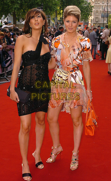 "HOFIT GOLAN, TAMARA DE BOURBON.""The Break Up"" UK film premiere.vue cinema, Leicester Square, London England.14th June 2006.Ref: CAN.full length.www.capitalpictures.com.sales@capitalpictures.com.©Can Nguyen/Capital Pictures"