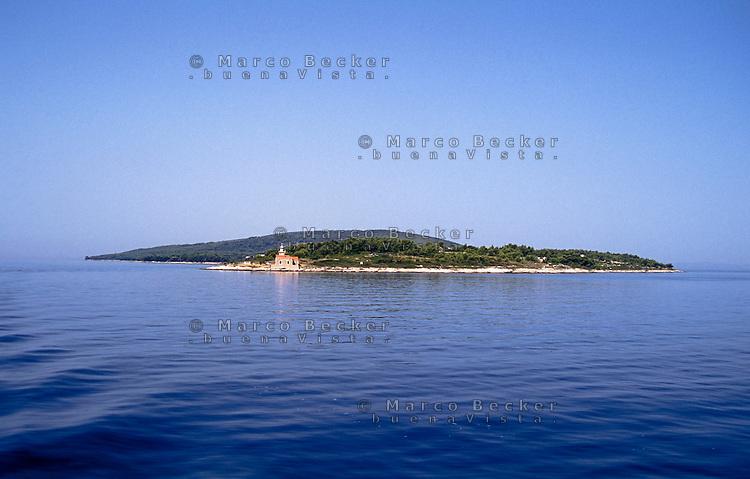 Isola Hvar (Lesina) presso Sućuraj (San Giorgio) --- Hvar island at Sućuraj