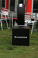 Part of the Bridgestone stand during the Pro-Am of the Bridgestone Challenge 2017 at the Luton Hoo Hotel Golf &amp; Spa, Luton, Bedfordshire, England. 06/09/2017<br /> Picture: Golffile | Thos Caffrey<br /> <br /> <br /> All photo usage must carry mandatory copyright credit (&copy; Golffile | Thos Caffrey)