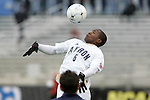 13 December 2009: Akron's Darlington Nagbe. The University of Akron Zips played the University of Virginia Cavaliers at WakeMed Soccer Stadium in Cary, North Carolina in the NCAA Division I Men's College Cup Championship game.