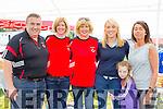 Having fun at the Killarney Rugby club family fun day on sunday were l-r: Eamon O'Callaghan, Eimear Corridon, Ann Clifford, Deirdre O'Callaghan, Isabelle O'Callaghan and Joan Kelly