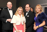 Brian Miley, Marie and Sean O'Driscoll and Jackie Lavin, Muckross Park Hotel, at the Irish Hotels Federation Conference Gala Dinner in The Malton Hotel, Killarney on Tuesday night. Picture: MacMonagle, Killarney