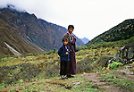 Brother and Sister, Bhutan