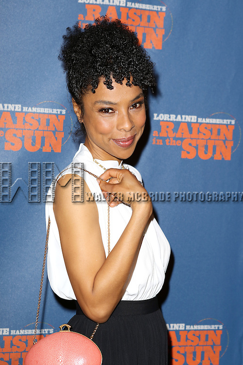 """Sophie Okonedo attends the Broadway Opening Night After Party for  """"A Raisin In The Sun"""" at Tribeca Rooftop on April 3, 2014 in New York City."""