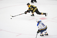 June 6, 2019: Boston Bruins defenseman Steven Kampfer (44) in game action during game 5 of the NHL Stanley Cup Finals between the St Louis Blues and the Boston Bruins held at TD Garden, in Boston, Mass. The Blues defeat the Bruins 2-1 in regulation time. Eric Canha/CSM