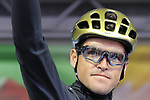 Greg Van Avermaet of Belgium at sign on before the Men Elite Road Race of the UCI World Championships 2019 running 280km from Leeds to Harrogate, England. 29th September 2019.<br /> Picture: Eoin Clarke | Cyclefile<br /> <br /> All photos usage must carry mandatory copyright credit (© Cyclefile | Eoin Clarke)