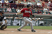 June 6, 2004:  Alejandro Machado of the Harrisburg Senators, Eastern League (Doube-A) affiliate of the Montreal Expos (Washington Nationals) during a game at Jerry Uht Park in Erie, PA.  Photo by:  Mike Janes/Four Seam Images