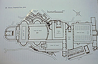 Plan of the Imperial Forum, Rome