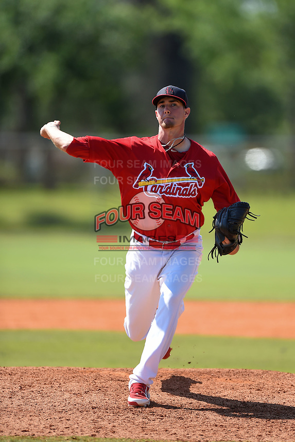 St. Louis Cardinals pitcher Josh Lucas (39) during a minor league spring training game against the Miami Marlins on March 31, 2015 at the Roger Dean Complex in Jupiter, Florida.  (Mike Janes/Four Seam Images)
