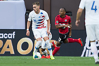CLEVELAND, OHIO - JUNE 22: Tyler Boyd during a 2019 CONCACAF Gold Cup group D match between the United States and Trinidad & Tobago at FirstEnergy Stadium on June 22, 2019 in Cleveland, Ohio.