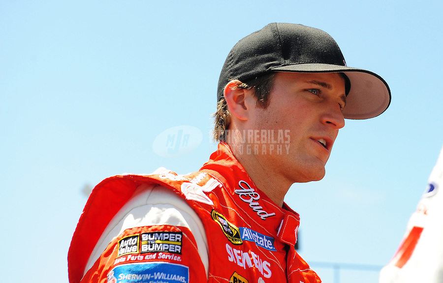 Apr 24, 2009; Talladega, AL, USA; NASCAR Sprint Cup Series driver Kasey Kahne during practice for the Aarons 499 at Talladega Superspeedway. Mandatory Credit: Mark J. Rebilas-