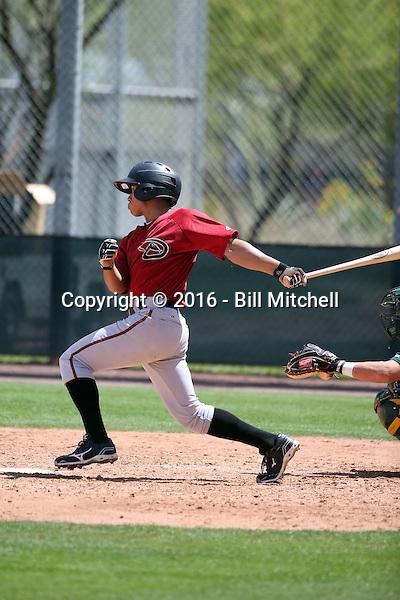 Gabriel Maciel - Arizona Diamondbacks 2016 spring training (Bill Mitchell)