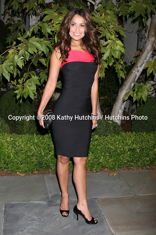 Tracey Edmonds  arriving at the Oceana Annual Gala at a private home in Pacific Palisades, CA on.October 18, 2008.©2008 Kathy Hutchins / Hutchins Photo...                .
