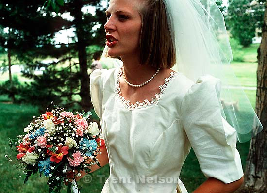 Laura Nelson at Trent and Laura Nelson's wedding.&amp;#xA;<br />
